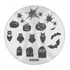 Pecsételő mintakorong DXE09 - Halloween