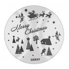 Pecsételő mintakorong DXE41 - Karácsony