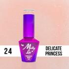 MOLLY LAC gél lakk Wedding - Yes I Do - Delicate Princess 24, 5ml/gél lakk készítés