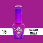 MOLLY LAC UV/LED Cocktails and Drinks - Bahama Mama 15, 10ml/gél lakk készítés