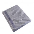 50db - Körömreszelő, egyenes -szürke, fekete középpel mosható és fertőtleníthető 80/80