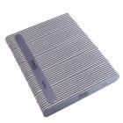 50db Körömreszelő - egyenes - fekete középpel - mosható és fertőtleníthető 150/150