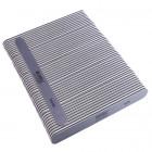 50db Körömreszelő - egyenes - fekete középpel - mosható és fertőtleníthető 280/280
