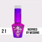 MOLLY LAC UV/LED gél lakk Yes I Do - Inspired By Wedding 21, 10ml/gél lakk készítés