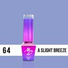 MOLLY LAC UV/LED gél lakk Delicate Woman - A Slight Breeze 64, 10ml/gél lakk készítés