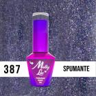 MOLLY LAC UV/LED gél lakk Wedding Dream and Champagne  - Spumante 387, 10ml