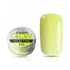 Neon Glow Glitter, 04 - Yellow, 3g