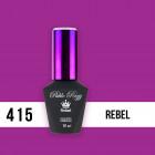 Gél lakk, UV/LED  Pablo Rozz - Rebel 415, 10ml/gél lakk készítés