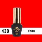 Gél lakk, UV/LED  Pablo Rozz - Vision 430, 10ml/gél lakk készítés