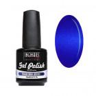 UV/LED színes gél lakk 15ml - Royal Blue Glitter