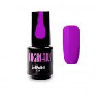 Színes gél lakk Inginails Neon Violet 020, 5ml /gél lakk készítés
