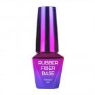 Építő UV/LED Gél lakk, Rubber Fiber Base – Nude, 10ml