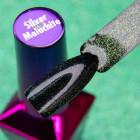 UV/LED gél lakk Top Coat - Magic Mood - Silver/Malachite - fixálásmentes, 5ml