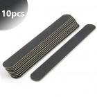 10db - Professzionális reszelő, vékony fekete 100/180