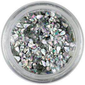 Könnycsepp - ezüst, hologramm