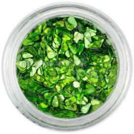 Könnycseppek - zöld, hologramm
