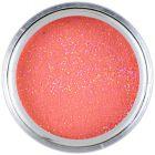 Színes porcelán por 7g - korallpiros - Red Maple Glitter