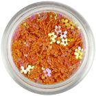 Narancssárga virágok - színes visszfény