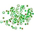 Díszítőelem körmökre - világoszöld csillag