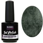UV gél lakk - Green Silver Effect Magnetic 15ml