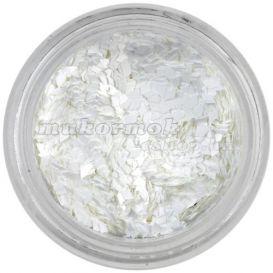 Aqua tip dísz - fehér rombusz