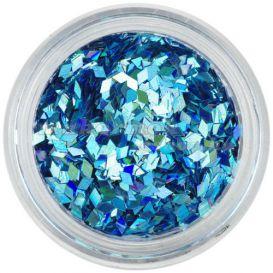 Aqua tip dísz - türkiz, hologramm