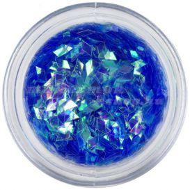 Nail art dísz - kék