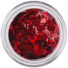 Piros flitterek aqua tipbe - gyémántok