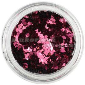 Rombusz - bordós rózsaszín