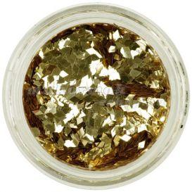 Arany flitterek aqua tipbe - gyémántok