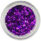 3D gyémánt - lila, hologramm