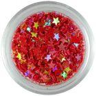 Nail art csillagocskák – piros
