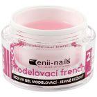 French UV zselé - enyhén rózsaszín, 40ml