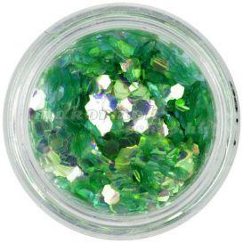 Világoszöld hatszög - aquaelements