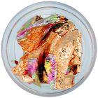 Nail art díszek - fólia szeletek, színes, fényes
