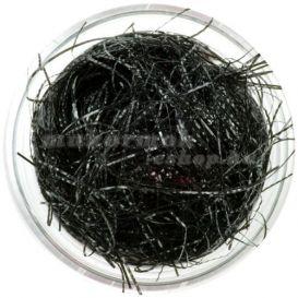Fekete konfettik - hosszú fonalak