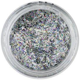 Díszítő szálak - ezüst, hologramm