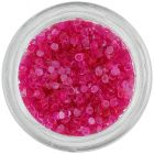 Nail art díszek - rózsaszín karikák