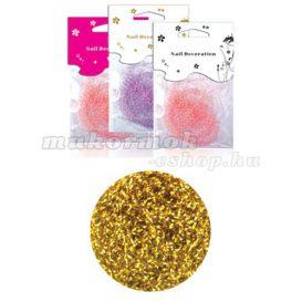 Arany konfettik - fonalak, zacskós