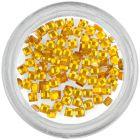 Négyzet alakú kövecskék – sárga