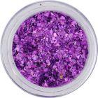 Szabálytalan alakzatok, kicsi - hologrammos lila