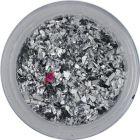 Ezüstszínű szabálytalan alakzatok – kicsi