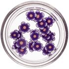 Fimo virágok - szeletek